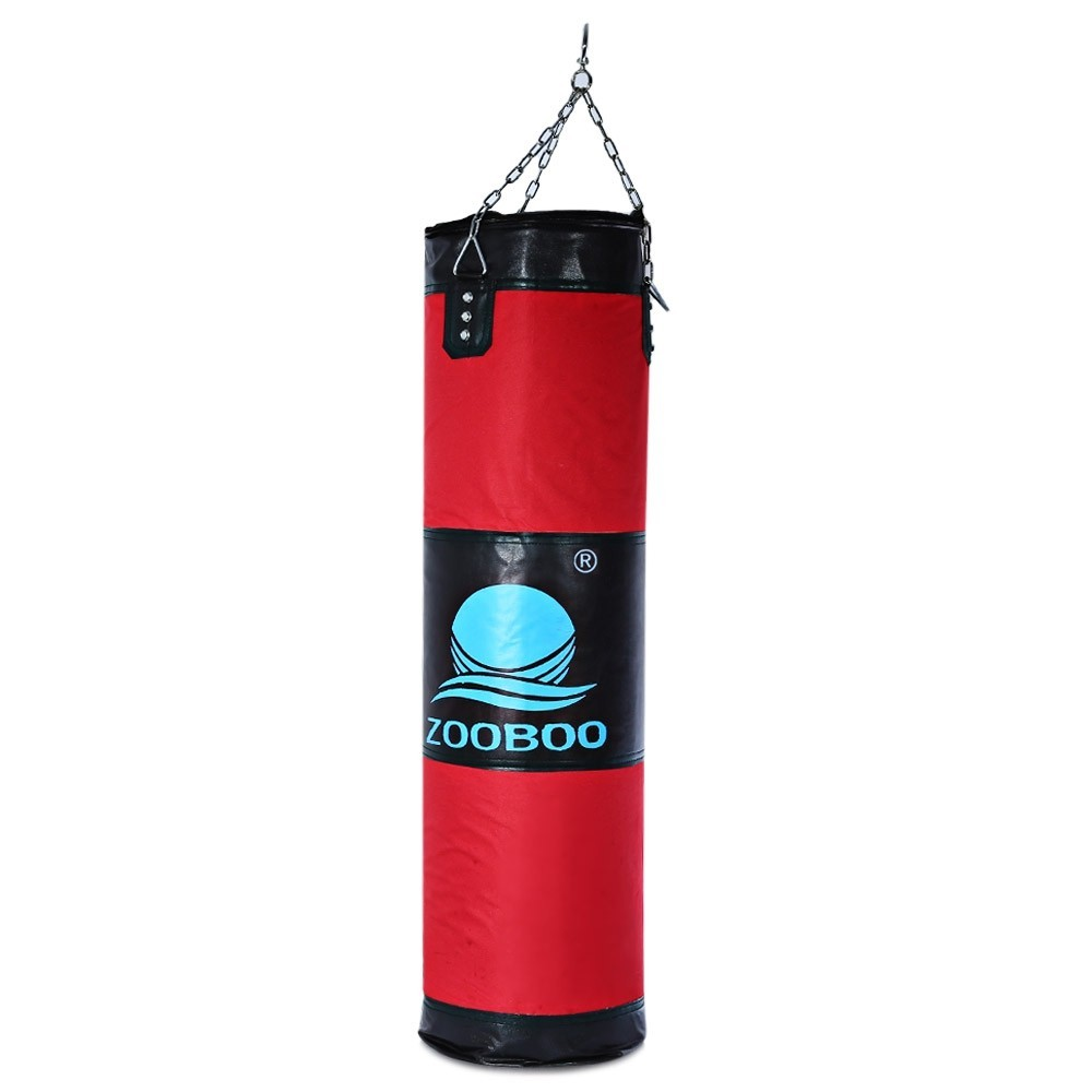 Boxing Punching Bag 100cm Fitness Sandbags Striking Drop Hollow Empty Sand Bag Martial Art Training Punch