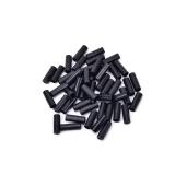 100Pcs4mm Bike Bicycle Cycling Brake Cable Crimps Housing Plastic End Tips Cap ~