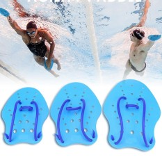 1pair/set Hand Training Adjustable Pvc Paddles Fin Water Sport Diving Swimming Web (m) - Intl By Highfly.