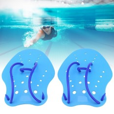 1pair/set Hand Training Adjustable Pvc Paddles Fin Water Sport Diving Swimming Web (s) - Intl By Highfly