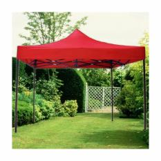 3 X 3 Retractable Tent (red) By Smile Smell.
