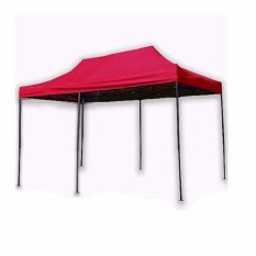 3 X 4.5 Rectractable Tent (red) By Smile Smell.