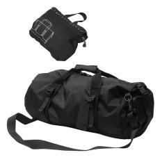 360DSC Foldable Lightweight Sports Gear Waterproof Travel Duffel Gym Sports Bag - Black/S