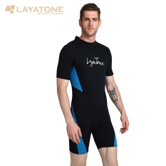 53f141002cb4 3mm Wet Suits Diving Skin for Men One-piece Short Sleeve Jump Suit Swimsuit  Swimwear