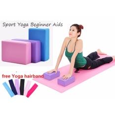 e6d33e36cf30f 3PCS Yoga Bricks High Density EVA Yoga Block Environmental Protection  Anti-slip Foam Brick Yoga
