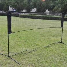 5.9m x 0.79m Professional Training Square Mesh Badminton Net Green - intl
