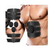 Smart Abs Stimulator Muscle Trainer Toning Belt Home Exercise Fit Abdominal Pad Fitness Gym Abs Arm Sports Stickers Fitness Equipments