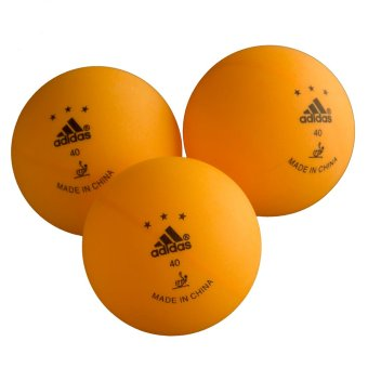 Adidas Three Star Competition Table Tennis Balls - picture 2