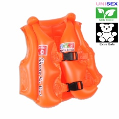 Advanced Inflatable Swimming Aid Vest For Kids (orange) By Panmanhattan Marketing Corp.
