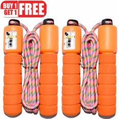 Automatic Jump Counter Adjustable Skipping Jumping Rope (orange) Buy 1 Take 1 By Lst Dry Goods.