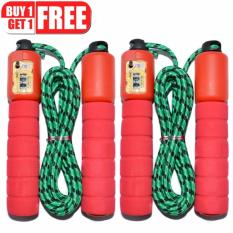 Automatic Jump Counter Adjustable Skipping Jumping Rope (red) Buy 1 Take 1 By Lst Dry Goods.
