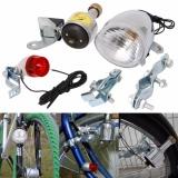 Friction Generator Dynamo Bicycle Motorized Bike LED Head Tail Light Lamp 6V 3W