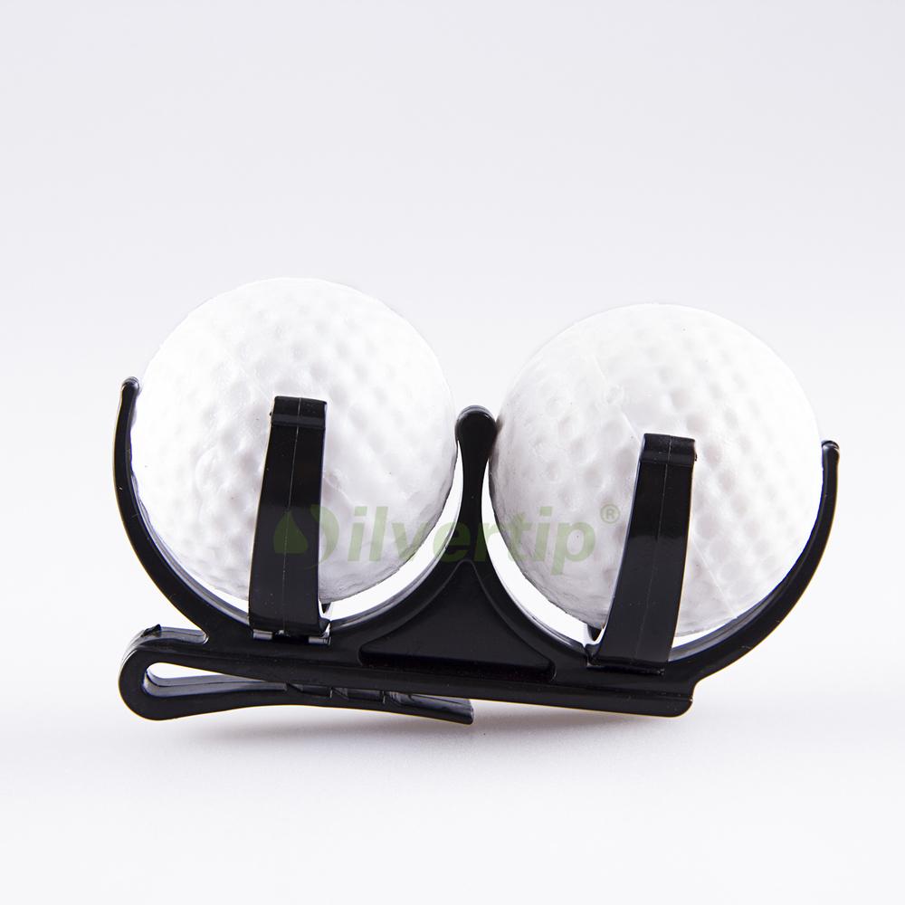 Golf Ball Holder Clip Magic Ball Games Prop Organizer Golfer Golfing Tool - Intl