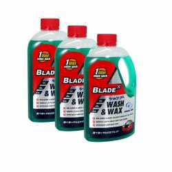 Blade Wash and Wax 1L, Set of 3 (Green)
