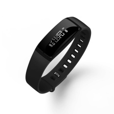 Bluetooth Multifunctional Smart Bracelet Heart Rate Blood Pressure Sleep Monitor Fitness Tracker Smart Sports Watch Color:black Battery Capacity:70ma - Intl By Magic Cube Express.