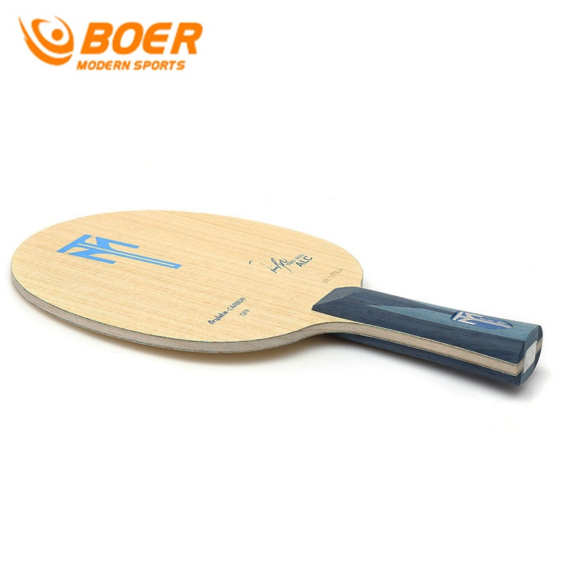 Hình ảnh BOER Table Tennis Blade ALC 7 Layers Tung Wood and Carbon Fiber Ping Pong Pat Fast Attack (Long Handle) - intl