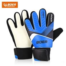 Boer Anti-Skid Finger-Save Child Goalkeeper Gloves For Goalie Beginners (size 6)- Intl By Chinabrands_com Store.