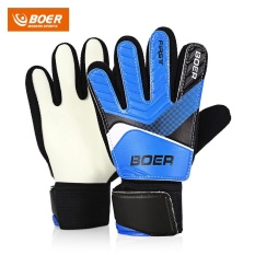 Boer Anti-Skid Finger-Save Child Goalkeeper Gloves For Goalie Beginners - Intl By Chinabrands_com Store.