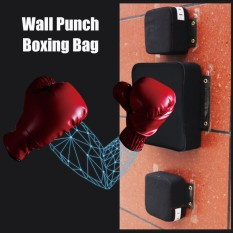 Boxing Fighter Fitness Wall Punch Bag Training Square Focus Target Soft Pad  - intl