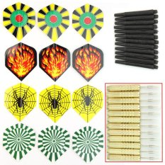 Bu 12 X Copper Dart Darts Needle Flights Steel Tip For Bar Party Play Throwing Toy - Intl By Beunique.