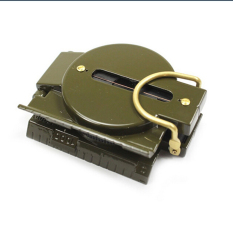 Buytra Army Tritium Aluminum Lensatic Marching Compass