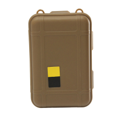 Buytra Outdoor Plastic Waterproof Airtight Survival Case Container Storage Boxes (Khaki)