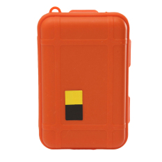 Buytra Outdoor Plastic Waterproof Airtight Survival Case Container Storage Boxes (Orange)
