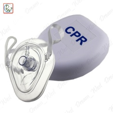 Cpr Mask Face With Hard Case (white) By Dreamwest Corporation.