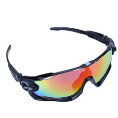 Cycling Bicycle Bike Sports UV400 Lens Protection Goggles Wind Sun Glasses - intl