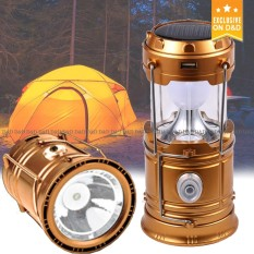 D&d Rj-5800t Led Solar Camping Lamp Rechargeable Lantern With Flashlight By D&d.