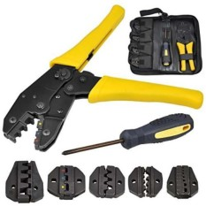 Electrical Terminal Ratchet Crimping Crimper Auto Electrician Tool - Intl By Greatbuy888.
