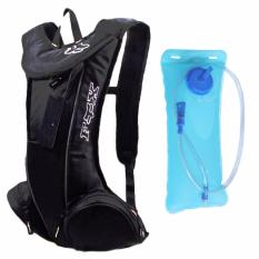 FDX Water Hydration Bag Back Pack #0801 (Black) w/ 2.0L Bladder