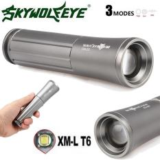Focus 3 Modes XML T6 LED 18650 Flashlight Torch Lamp Powerful - intl