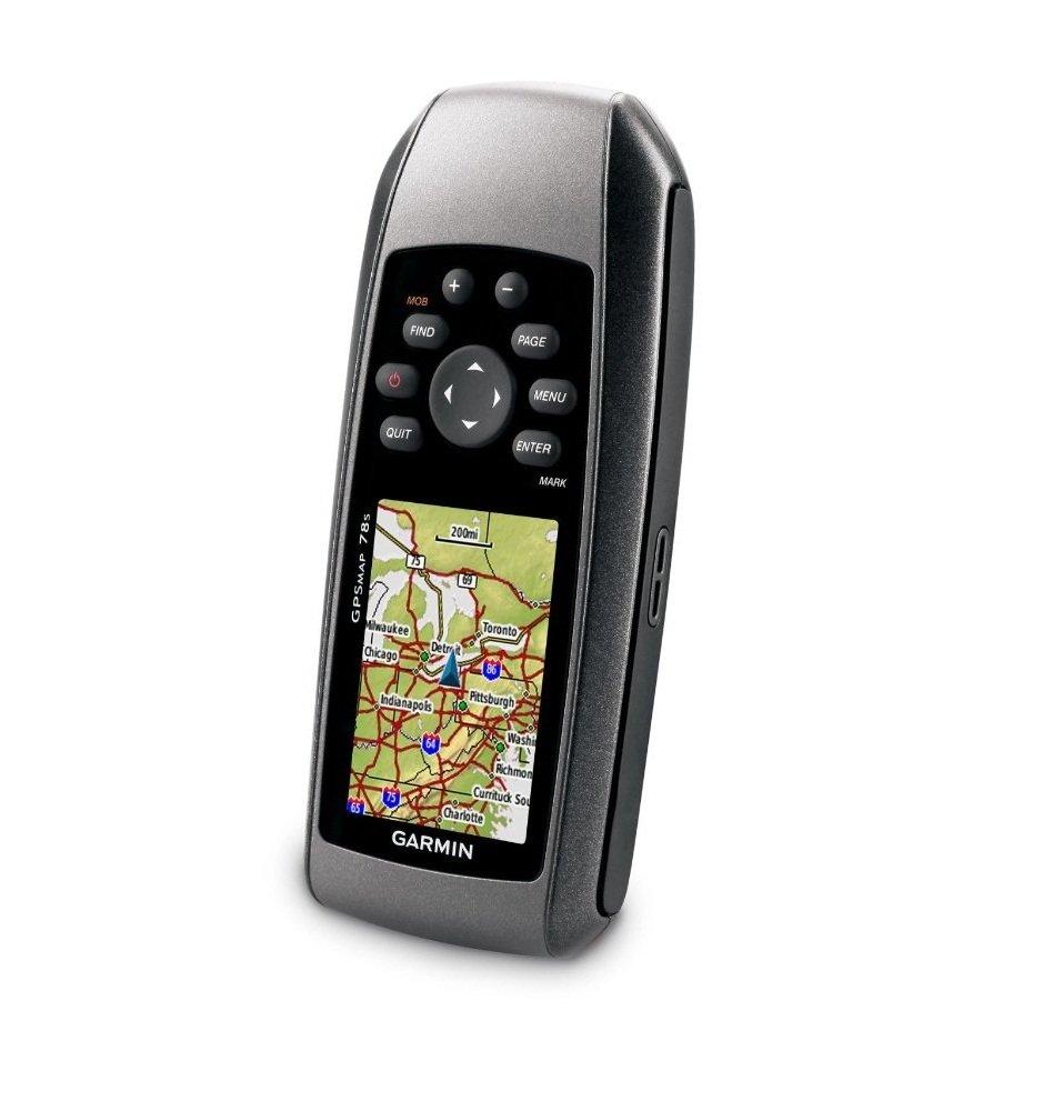 Garmin GPSMAP 78s Marine GPS Navigator (Black) - thumbnail