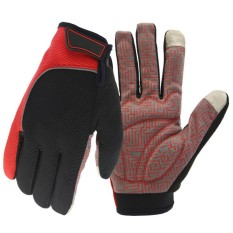 Hossen Unisex Winter Warm Full Finger Touch Screen Gloves Windproof Anti-Slip Reflective Gloves for