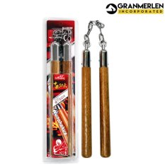 Huijun Sports Professional Wooden Chako (brown) By Gml Inc..