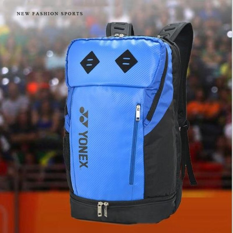 Large Capacity 30L Good Quality and Simple Fashion Can Be Installed Three Badminton Rackets Tennis Bag ...