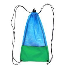 MagiDeal Mesh Drawstring Bag for Scuba Diving Snorkel Fins Goggles Mask S Green - intl