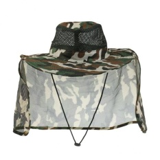 dcdf02005e4 MagiDeal Outdoor Fishing Hat with Shawl Sun Protection Quick-dry Camping Hiking  Cap - intl