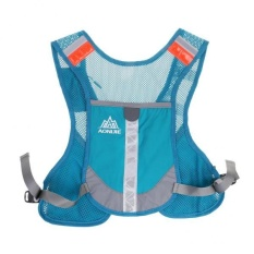 MagiDeal Running Cycling Vest Backpack Sports Hydration Water Bladder Bag Blue - intl