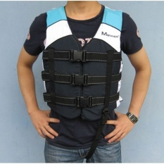 MANNER Adult life jacket vest professional swimming bubble fishing vest - intl