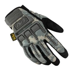 2c1c5dfe387 Mechanix Men Gloves Wear M-Pact Military Tactical Army Motocycle Bicycle  Shooting Gloves ACU