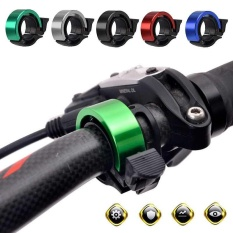 Mountain Bicycle Bike Bell Handlebar 90db Ring Alarm Loud Horn Aluminum Alloy - intl