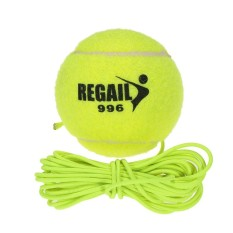 Natural Rubber Synthetic Wool Fiber Tennis Ball Dog Training Tennis Ball With String - Intl By Victory Team.