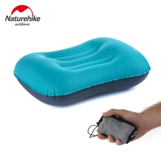 Naturehike Inflatable Pillow Travel Air Pillow Neck Camping Sleeping Gear Fast Portable Green Blue Orange Tpu - Intl By Star Store.
