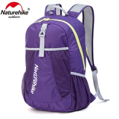 Naturehike Outdoor Womens Camping Sports Bags Nylon Mens Hiking Climbing Backpacks Folding Ultralight Knapsack 22l Packsack - Intl By Skmei Mall.