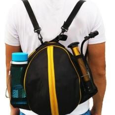 59c8a3244f9 Newworldmall Shoulder Soccer Ball Bags Carry Football kits Volleyball  Basketball Bag Training - intl