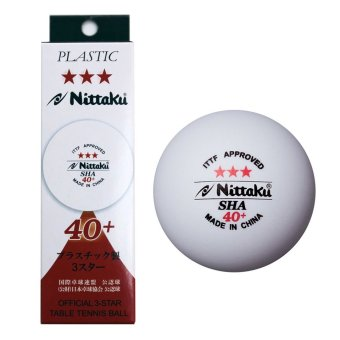 Nittaku 3 Star 40+ Table Tennis Ball