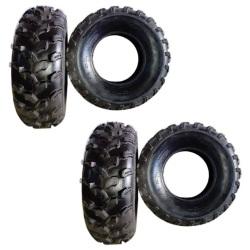 Qing Da 21x7.00-R10 OFF ROAD ATV Tires Set of 2 ( 2 Pcs Tires Only)