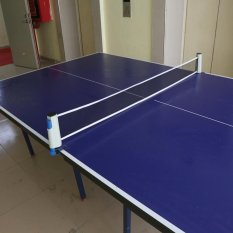 Retractable Table Tennis Net Replacement Lightweight To Carry (grey And Blue) - Intl By Rubikcube.